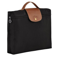 Porte-documents Le Pliage Longchamp L2182089 couleur noir vue de profil