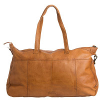 Grand sac shopping en cuir PIECES