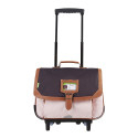 Cartable roulettes fille 38cm Tanns Iconic Classic 42123
