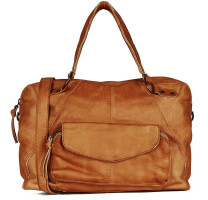 Grand sac cabas en cuir Pieces Fatima 17090746