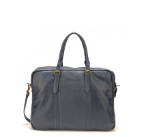 Sac porte documents cuir de vachette Mocca M8-36