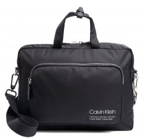 Porte documents en nylon Calvin Klein Repeating Logo K50K504339