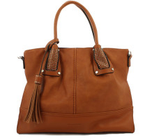 Grand sac cabas anses cloutées Francinel Carly 291498