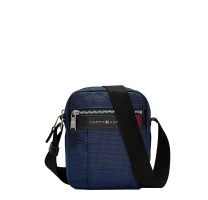Petit sac reporter Tommy Hilfiger Elevated AM0AM05810-CJM Bleu vue de face